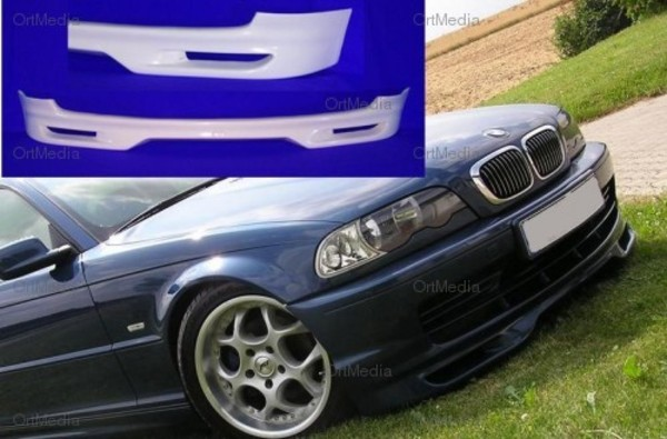 bmw e46 coupe frontansatz frontlippe frontsch rze ebay. Black Bedroom Furniture Sets. Home Design Ideas