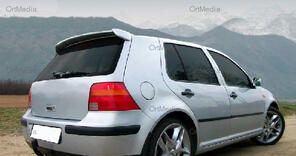 vw golf iv 4 dachspoiler big spoiler heckspoiler. Black Bedroom Furniture Sets. Home Design Ideas